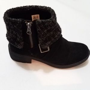 Rocket Dog Tobie knit ankle boots / booties
